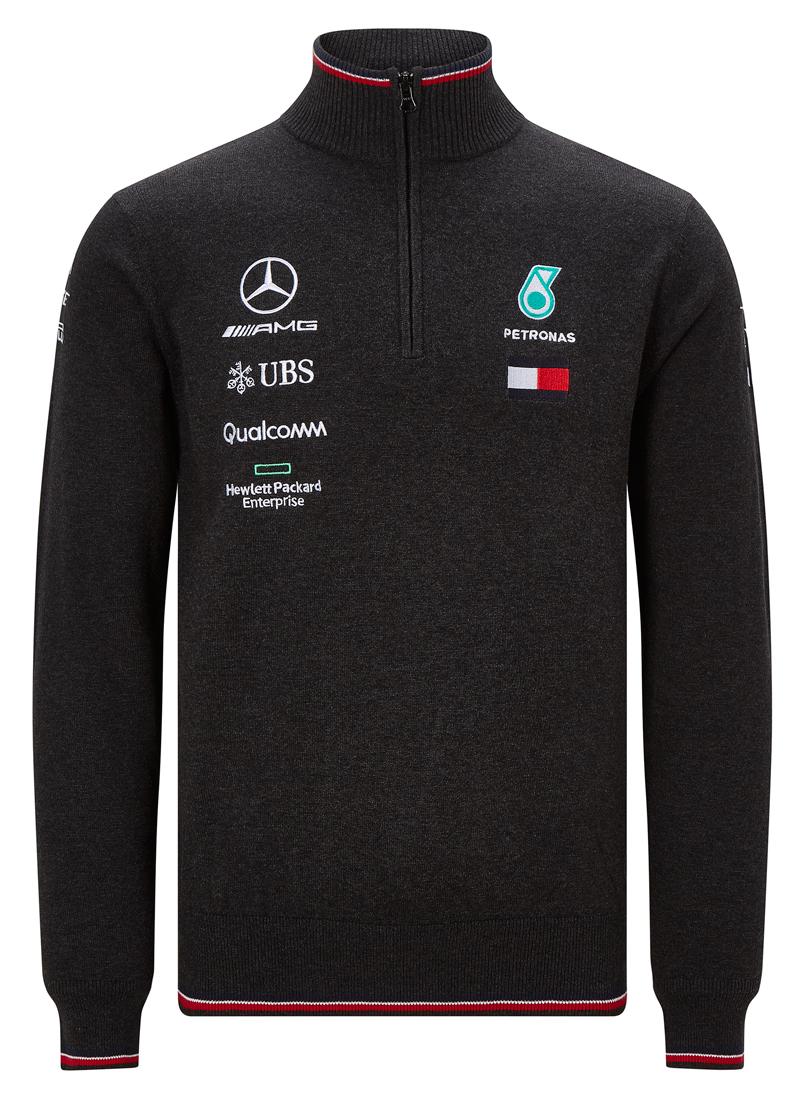 Пуловер темно-серого цвета команды MERCEDES AMG PETRONAS MOTORSPORT «Формулы-1»