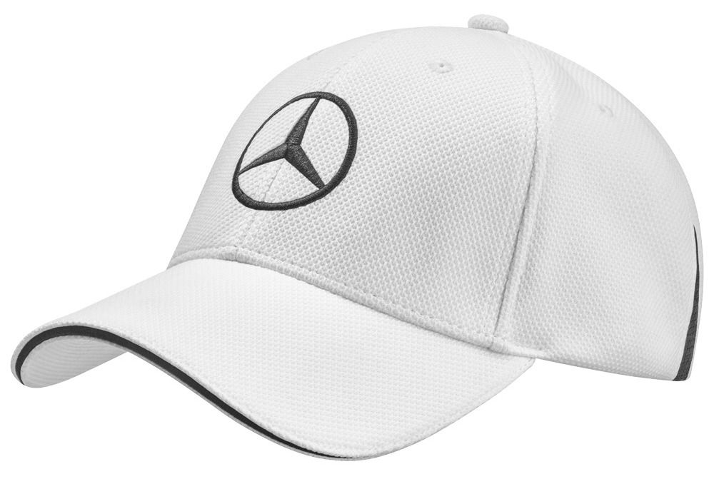 Бейсболка унисекс Mercedes-Benz Unisex Сap, Golf Selection, White