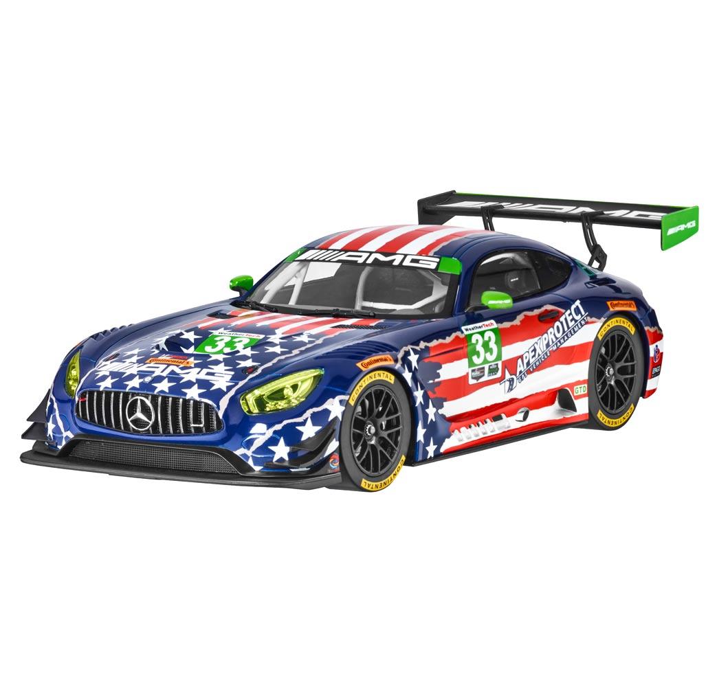 Модель Mercedes-AMG GT3, команда Riley 4.07, 1:18