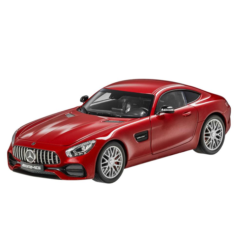 Модель автомобиля Mercedes-AMG GT S купе, 1:43