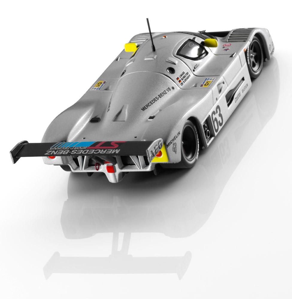 Модель гоночного автомобиля Sauber Mercedes C9 (1989)