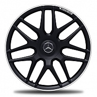 "AMG Multi spoke 20"" black"