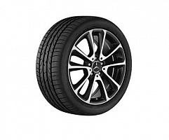 "5 double spoke 18"" black"