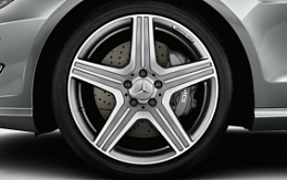 AMG star spoke gray R19