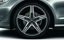 AMG star spoke black R19